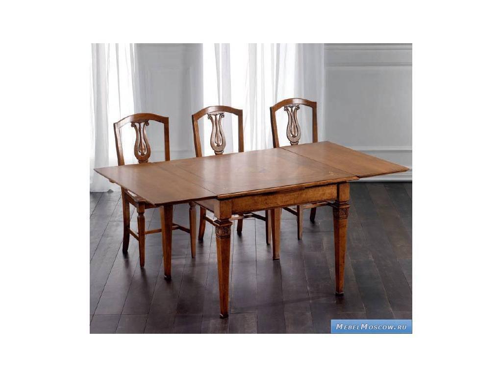 Rudiana Interiors: Accademia: стол обеденный квадратный  (орех)