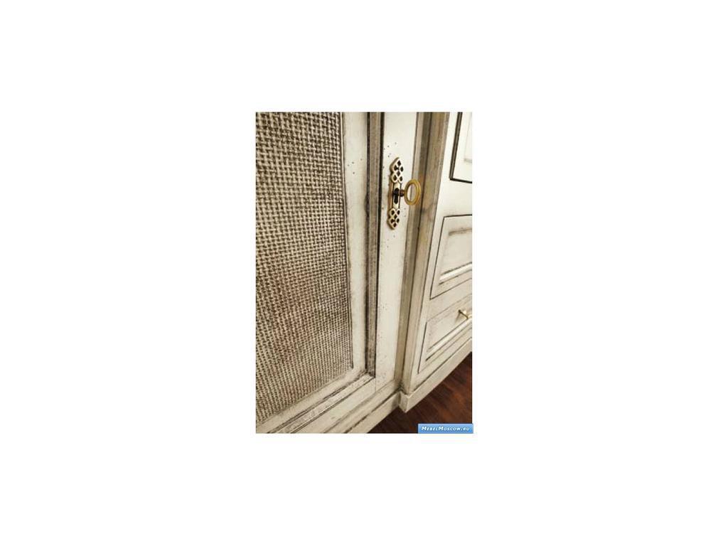 V. Villanova: Infinity: прилавок Vienna 2-х дверный, 4 ящика  (Bianco madeira)