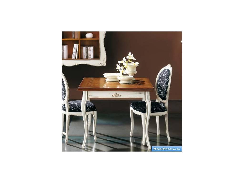 V. Villanova: Капри: стол обеденный раскладной  (Bicolore(Bianco +cilegio)
