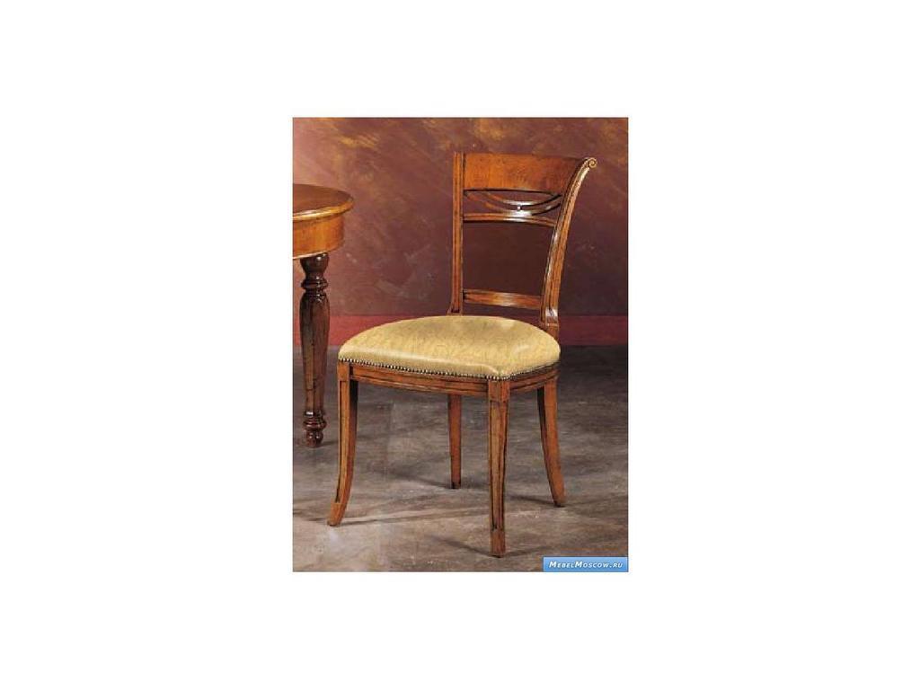 V. Villanova: Infinity: стул  обитый тканью (cilegio madeira)