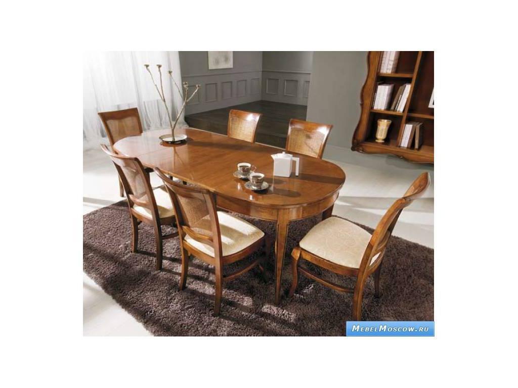 V. Villanova: стол обеденный раскладной 115х95  (Cilegio madeira)