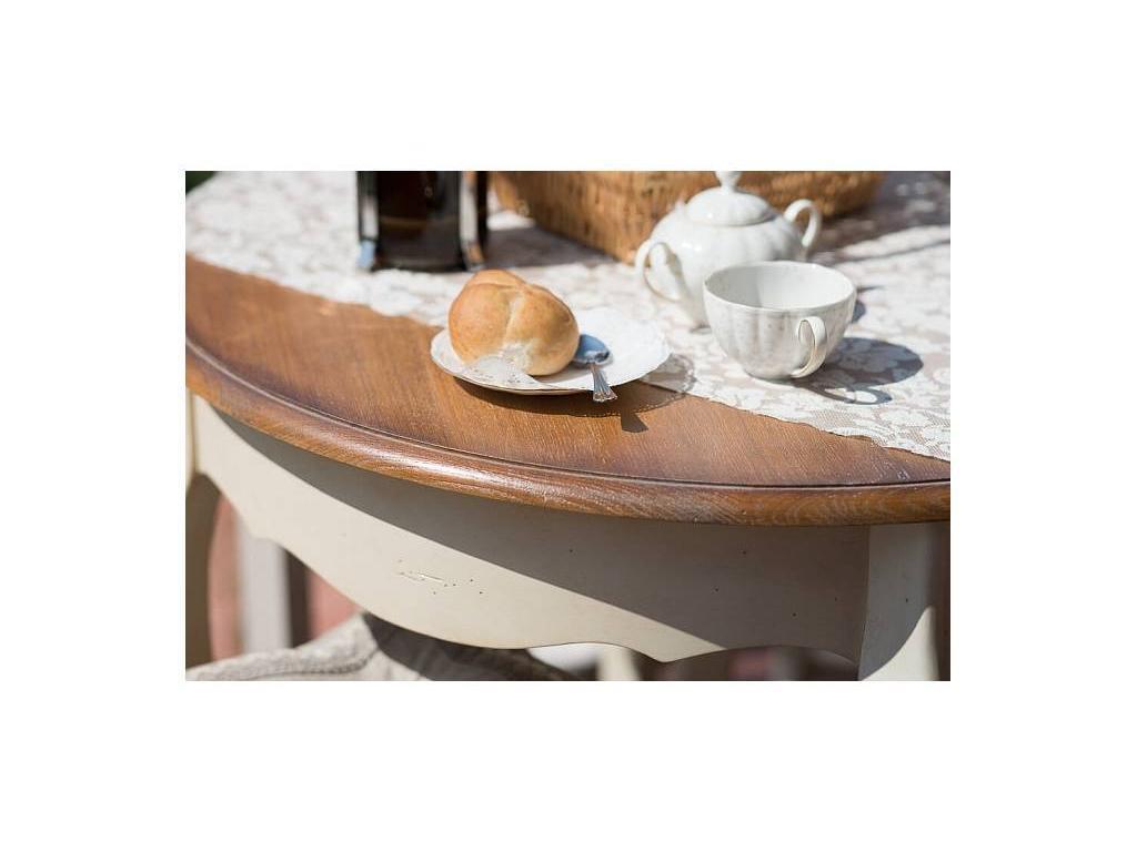 Mobilier de Maison: Belveder: стол обеденный  (белая карамель)