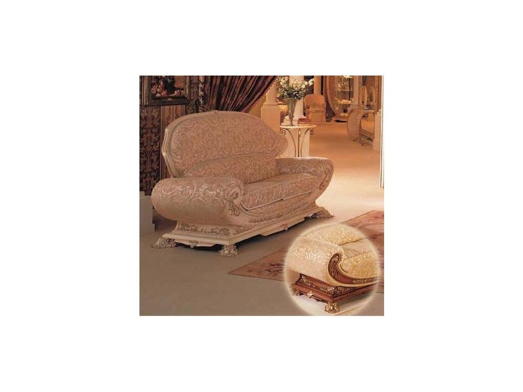 Vidal Gold: Excelsior: диван двухместный (светло-коричневый)