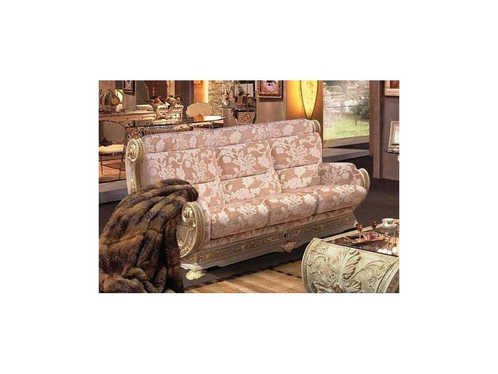 Vidal Gold: Grecia: диван трехместный (светло бежевый) ткань