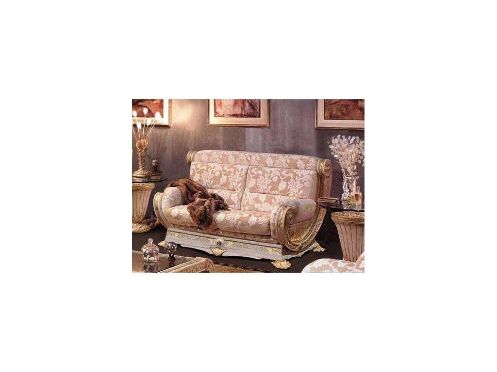 Vidal Gold: Grecia: диван двухместный (светло бежевый)