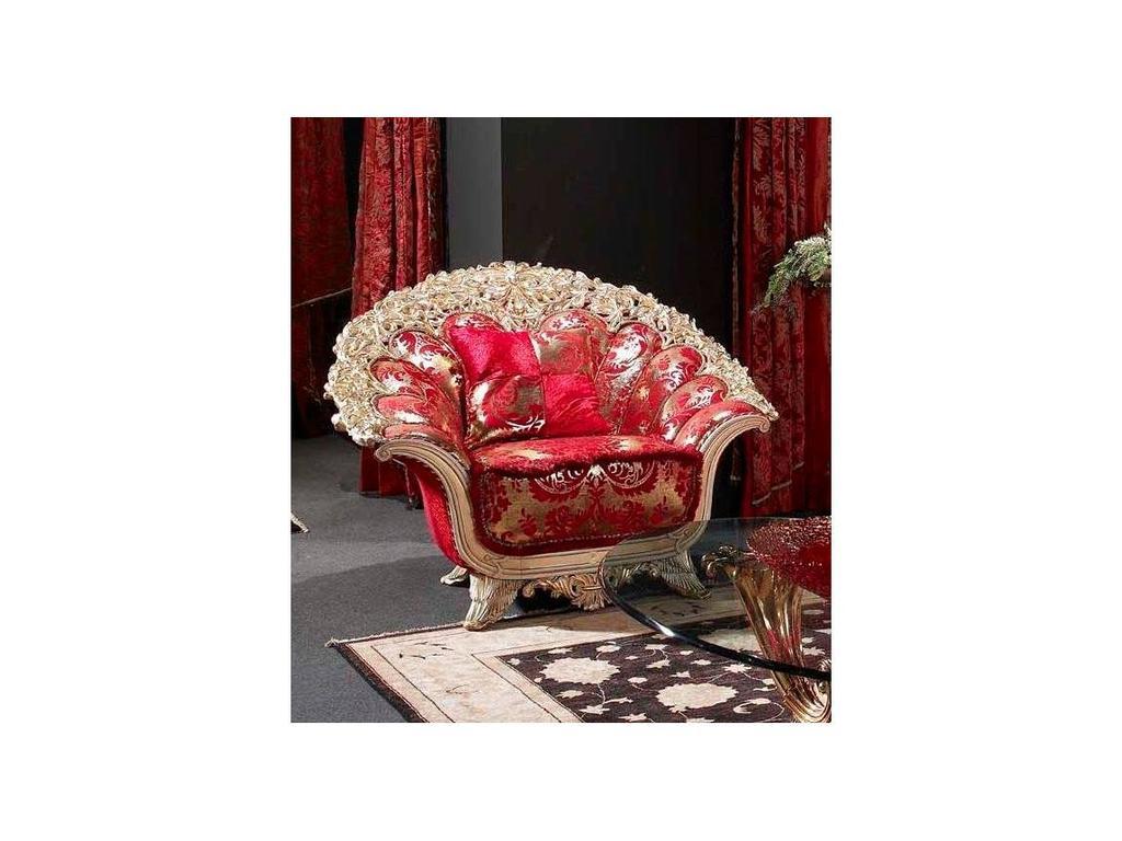Vidal Gold: Versailles: кресло (красный)