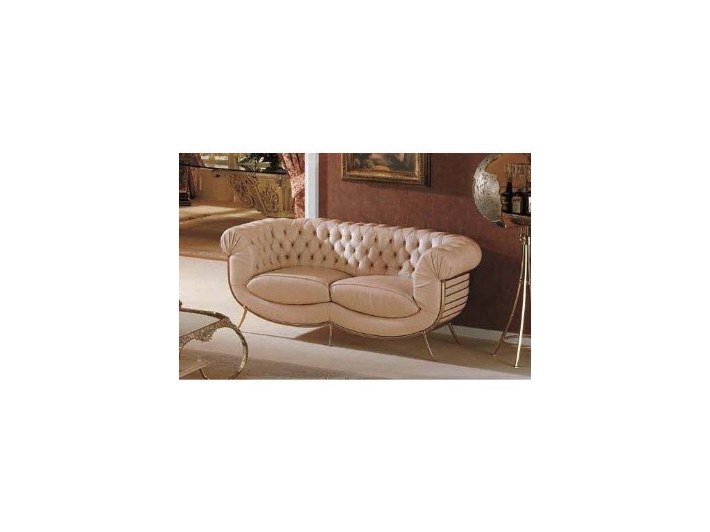 Vidal Gold: Chester: диван двухместный (светло-бежевый)