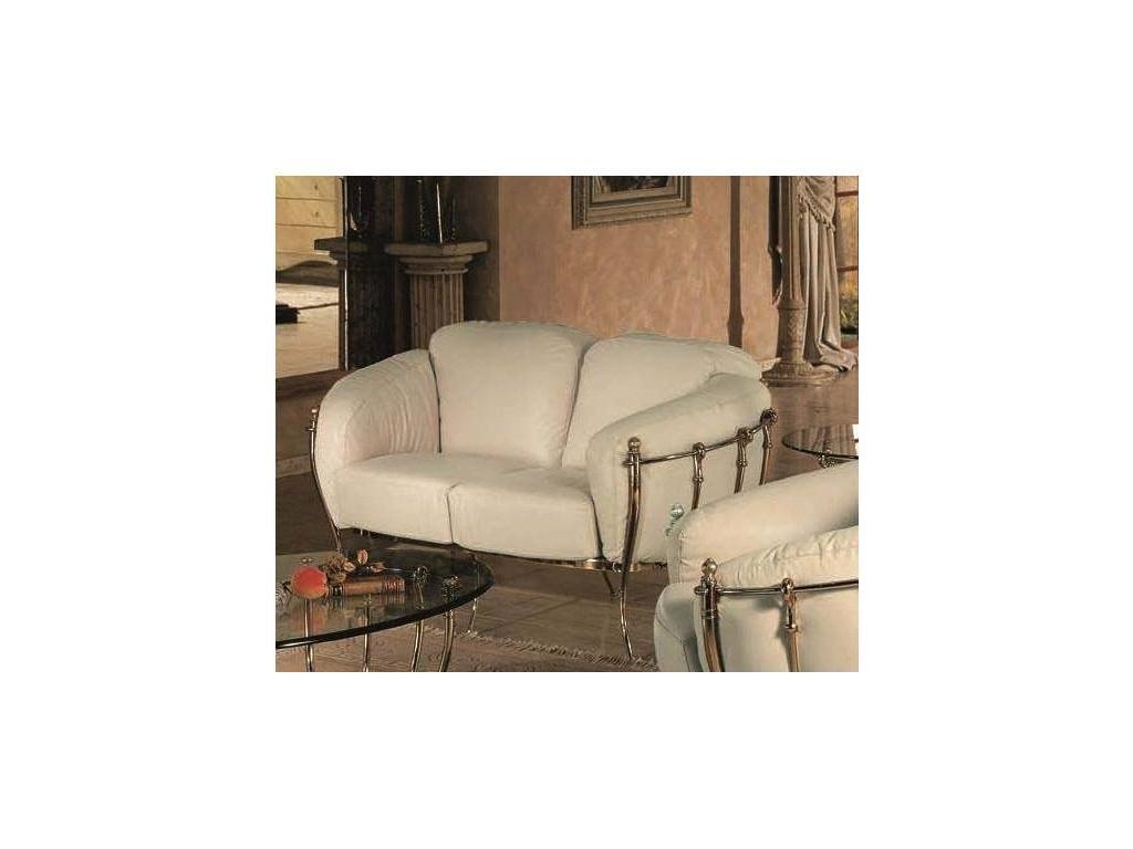 Vidal Gold: Da Vinci: диван двухместный (белый)