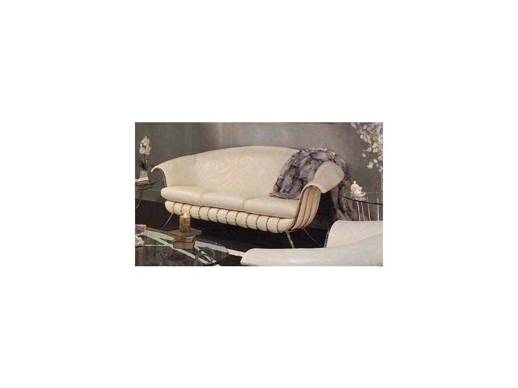 Vidal Gold: Bali: диван трехместный (слоновая кость)