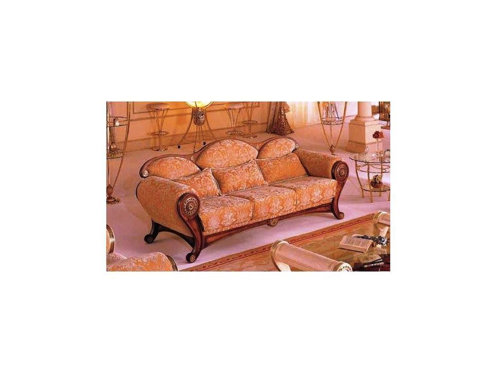 Vidal Gold: Tabarca: диван трехместный (светло коричневый)