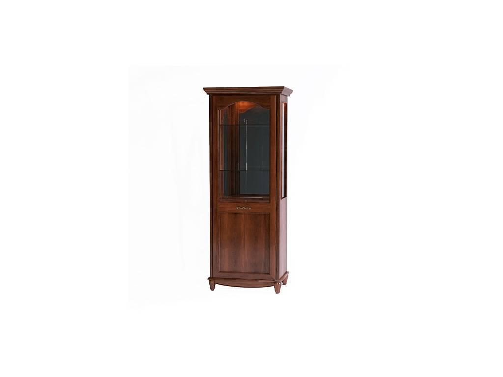 Liberty: Сан-Ремо: витрина 1 дверная  левая (вишня)
