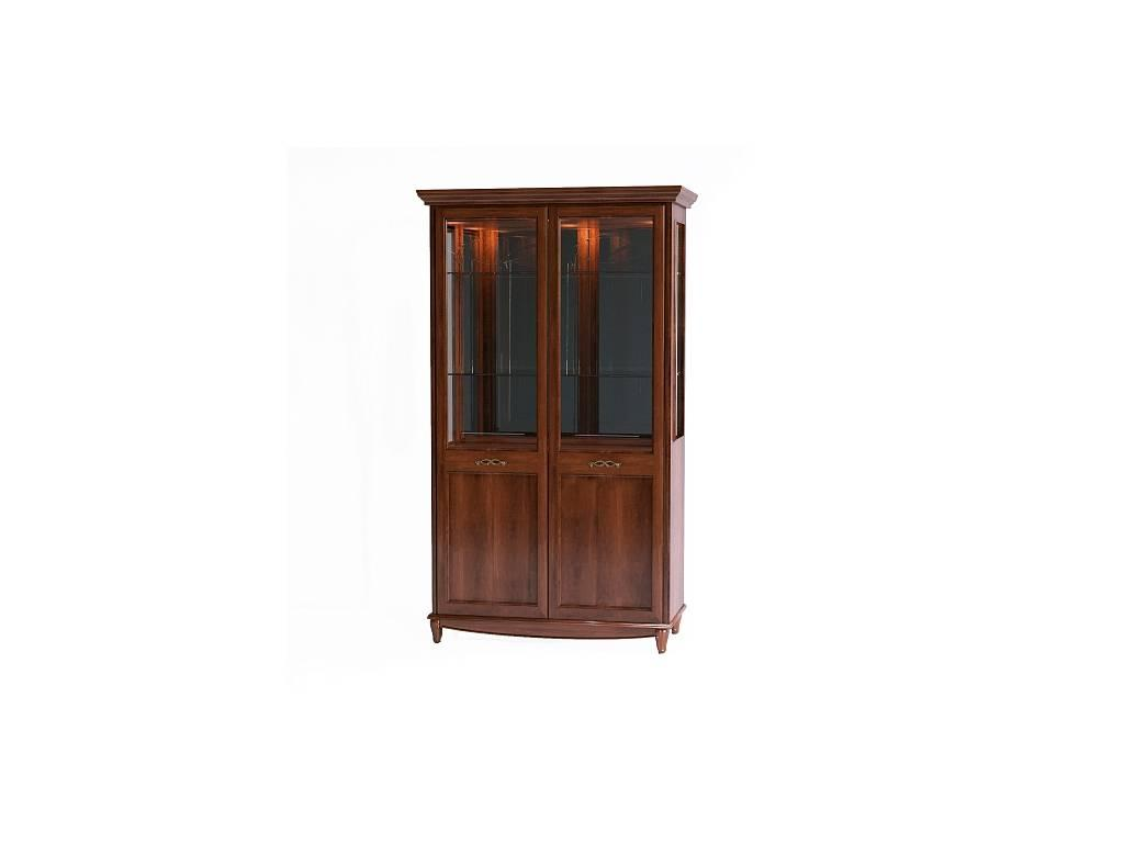 Liberty: Сан-Ремо: витрина 2-х дверная  (вишня)