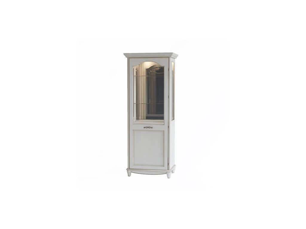Liberty: Сан-Ремо: витрина 1 дверная  правая (белый)