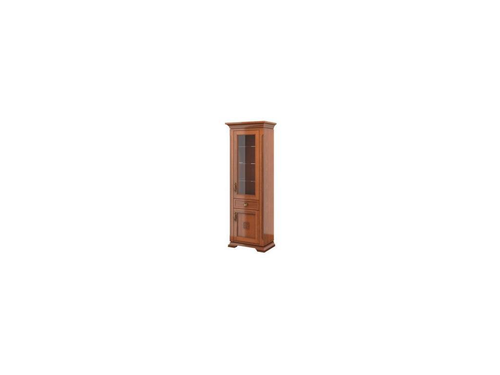 Liberty: Палермо: витрина 1 дверная  правая (орех)