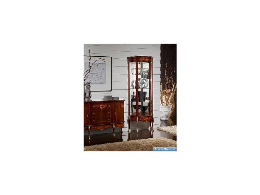 Solomando: витрина  1-дверная правая (орех)