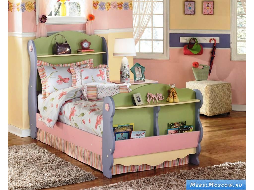 Детская двухъярусная кровать из массива карельской сосны Размер спального места двухъярусной
