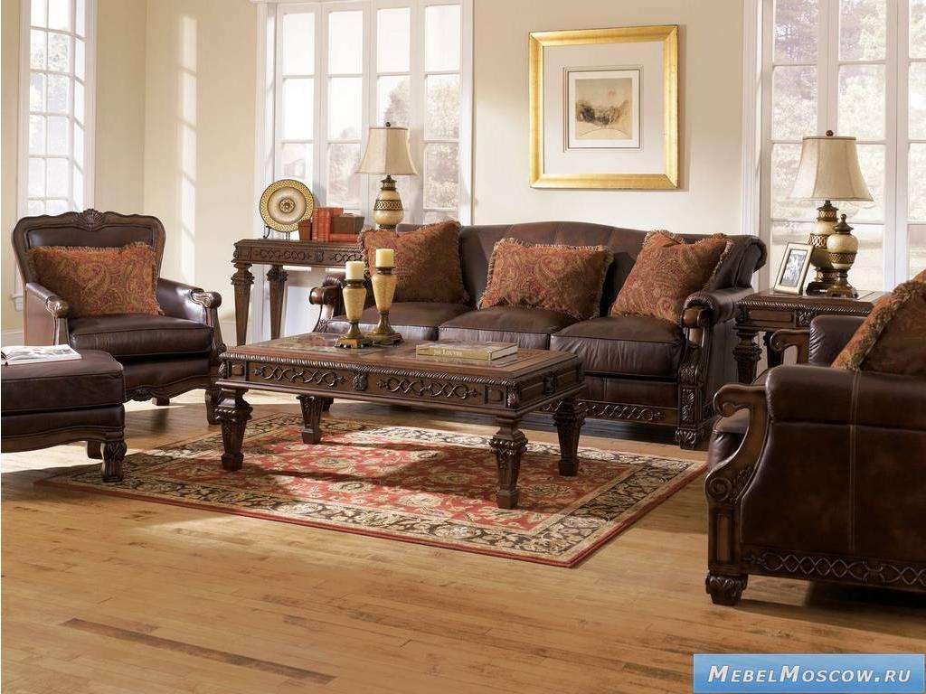 Мягкая мебель фабрики ashley на заказ