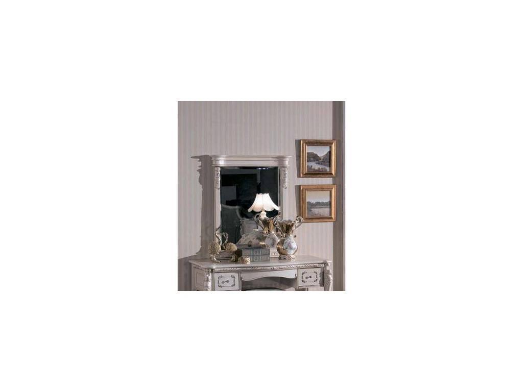 Carpenter: Изабелла: зеркало к туалетному столу В  (белый, серебро)