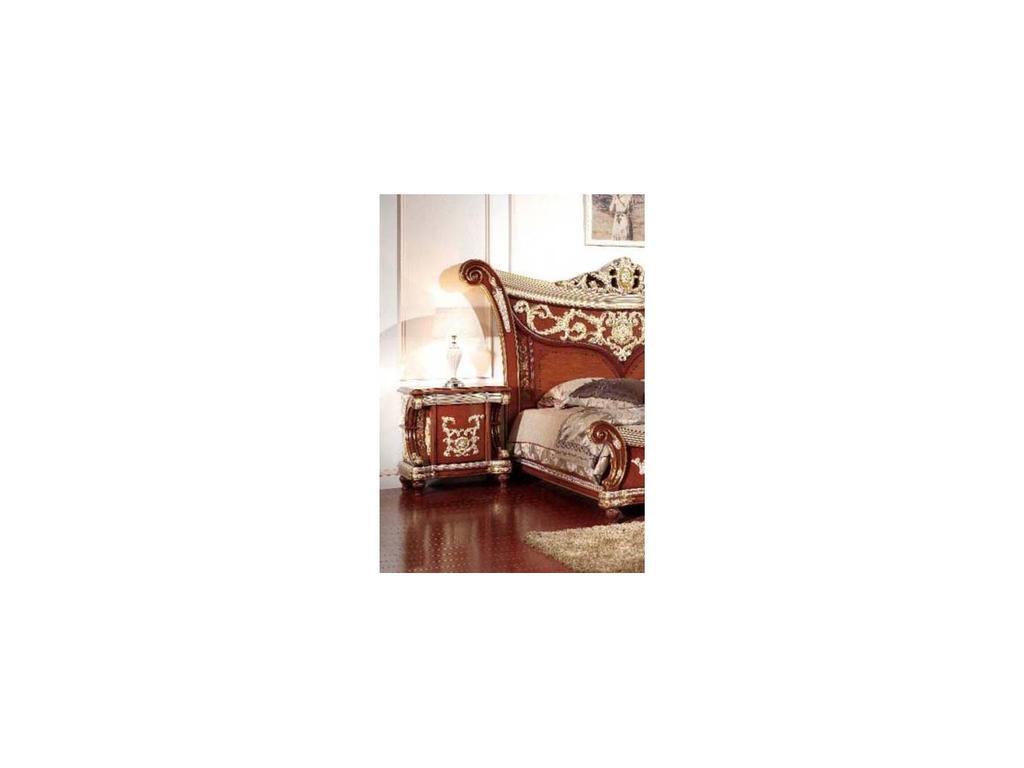 Carpenter: Love Collection: тумба прикроватная  (орех, золото)