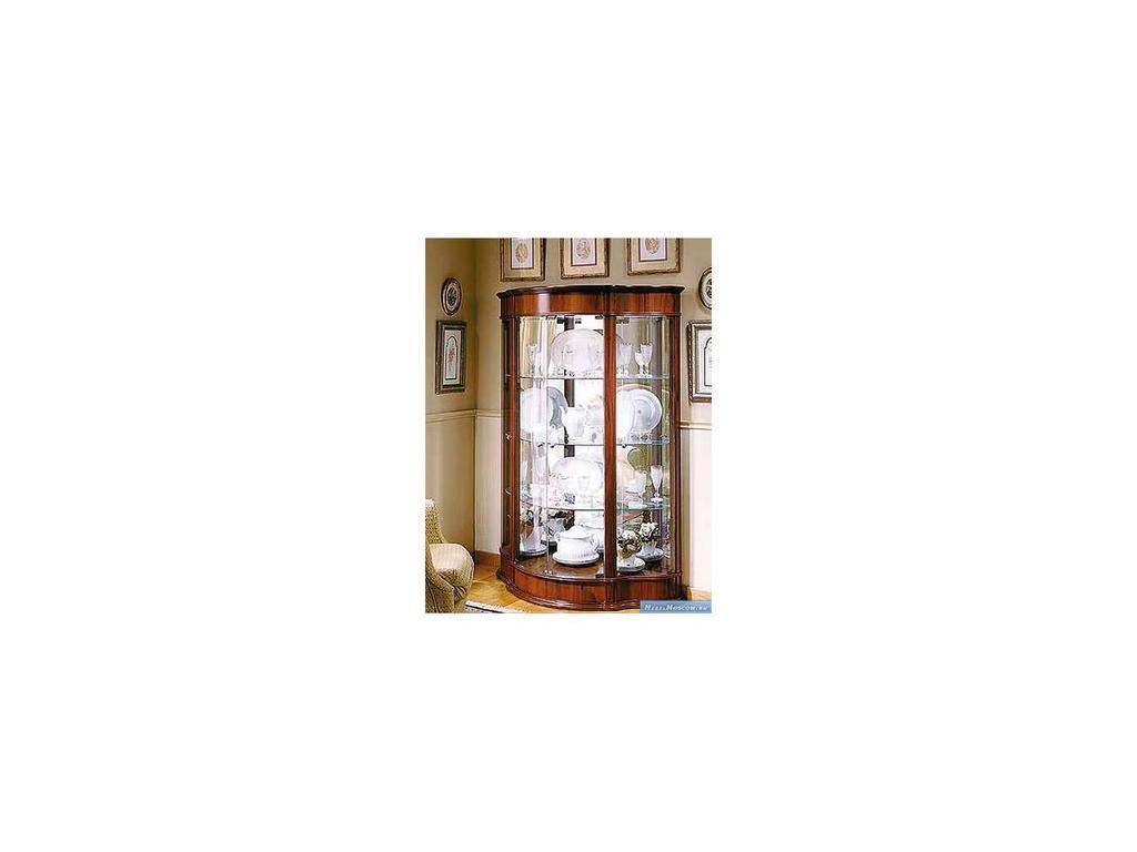 Mobax: витрина 4-х дверная  (орех)