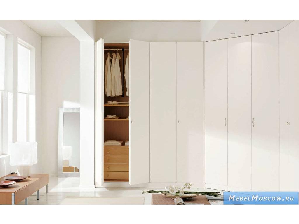 Белый угловой шкаф - модерн - 8 raffaello.