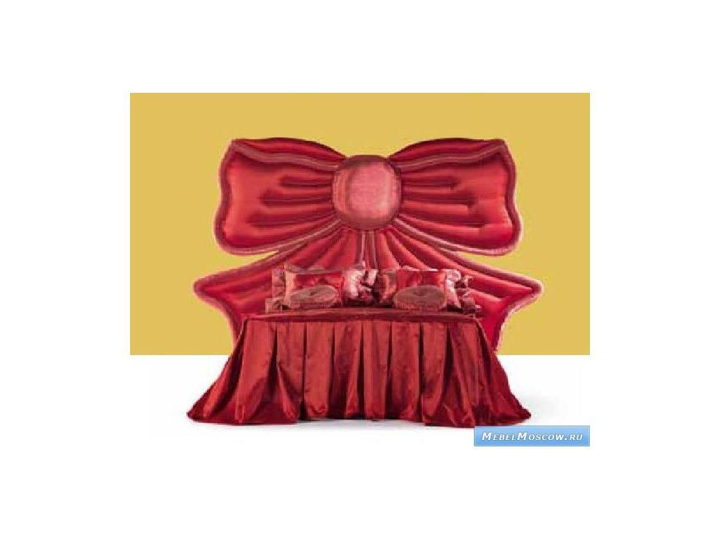 Marys: Morgana: кровать детская 120х200  ткань (красный)