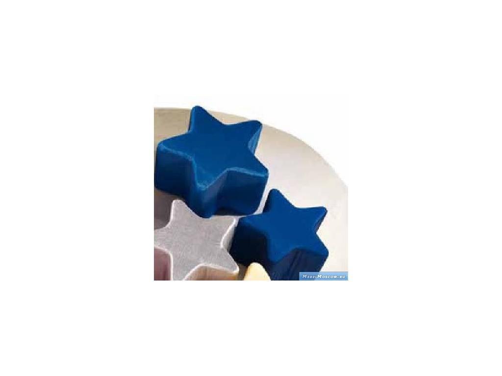 Marys: Lucina: пуф  ткань (синий)