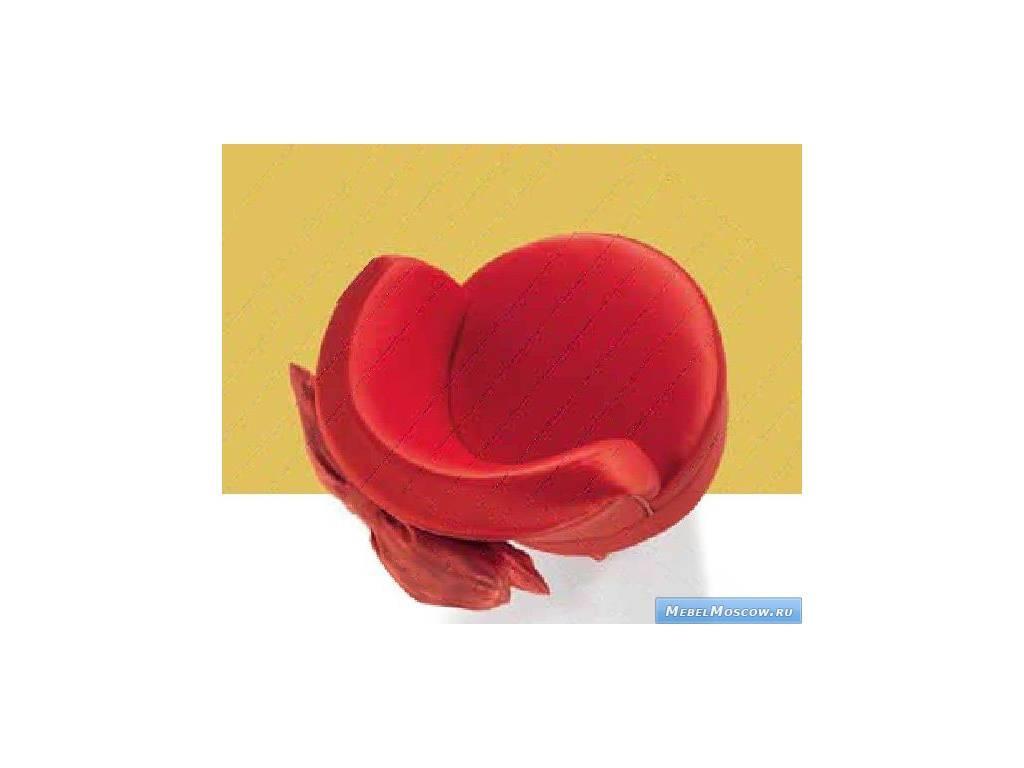 Marys: Vanessa: полукресло  ткань (красный)
