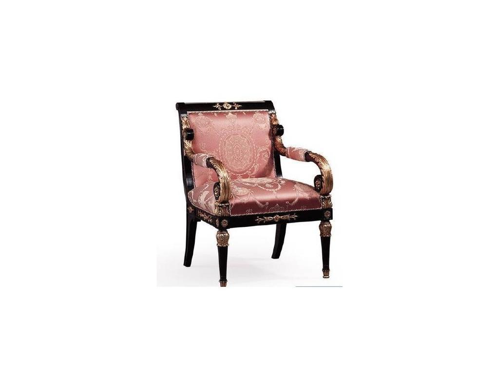 Epoca: Maxima collection: кресло Salzburgo  ткань (черный, золото)