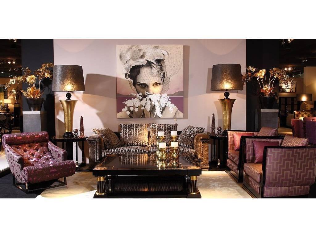 Tecni nova: Glamour: комплект мягкой мебели ткань. 5128678. мягкая мебель в