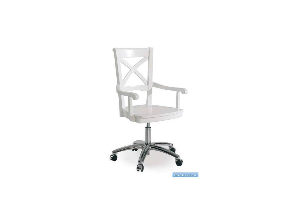 Artemader: Art-Deco: кресло для письменного стола  (белый)