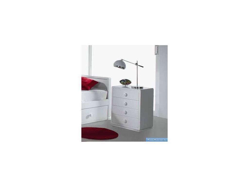Artemader: Art-Deco: тумба прикроватная  (белый)