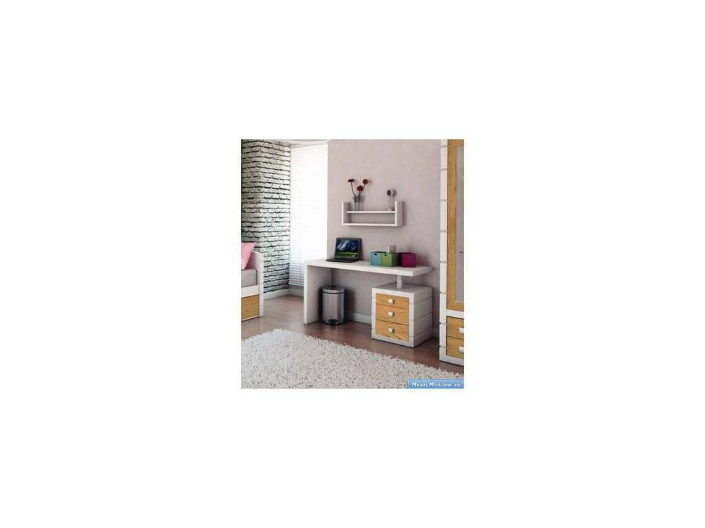 Artemader: Montblanch: стол письменный  (белый)