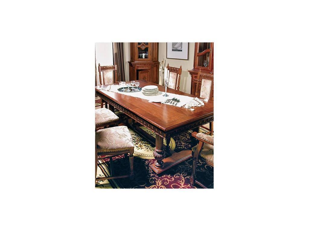 Simex: Венеция Люкс: стол обеденный раскладной (орех)