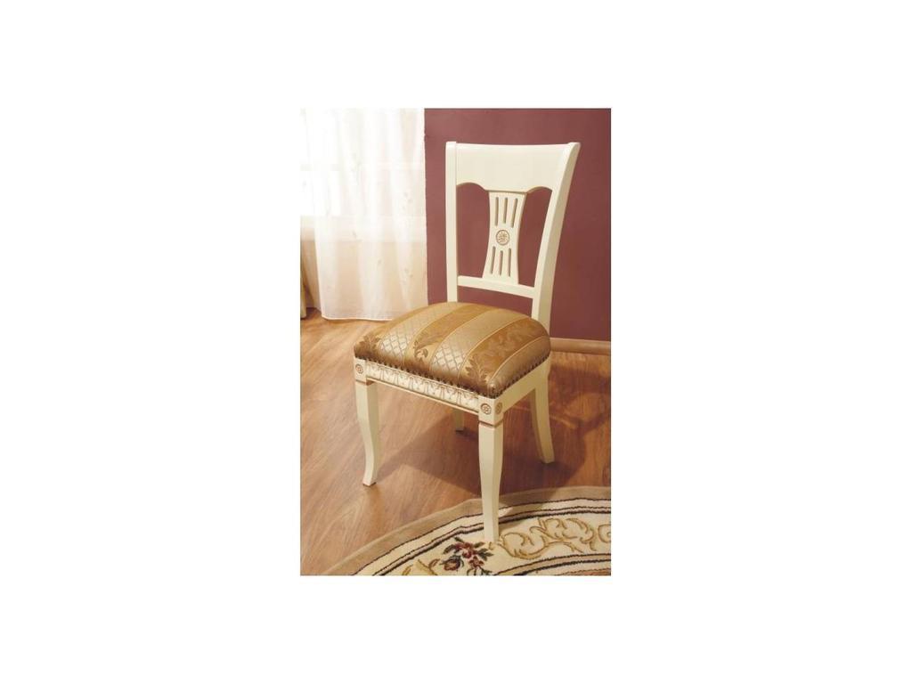 Simex: Венеция: стул (крем, ткань)