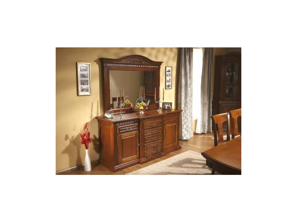 Simex: Венеция: зеркало настенное (орех)