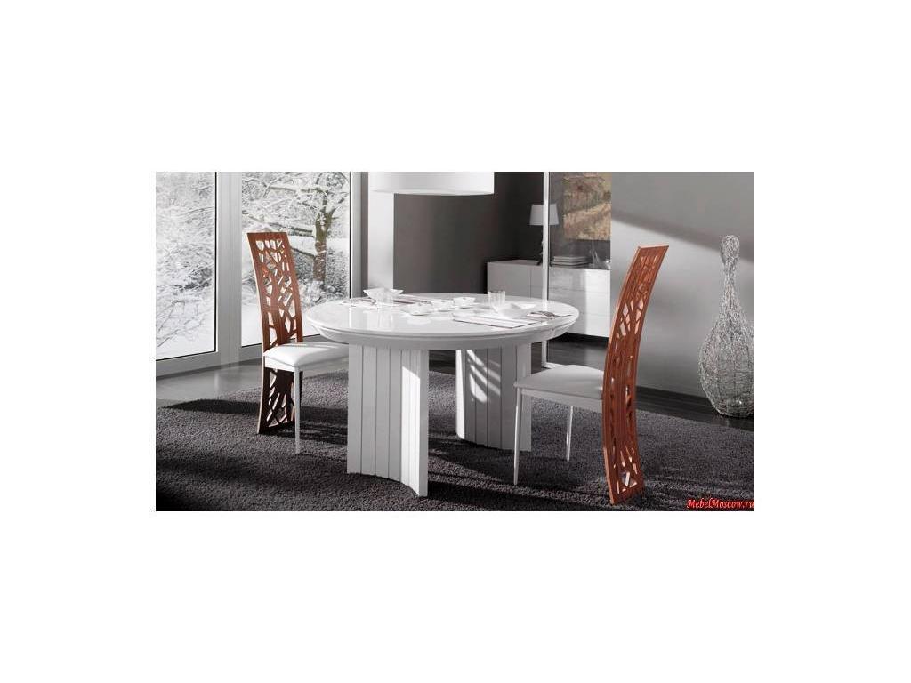 Idealsedia: Anversa 2: стол обеденный раскладной (белый лак)