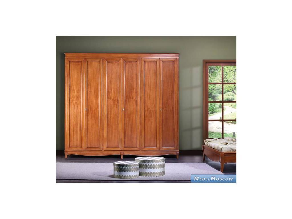 Monte Cristo: Gualengo: шкаф 6 дверный (черешня)