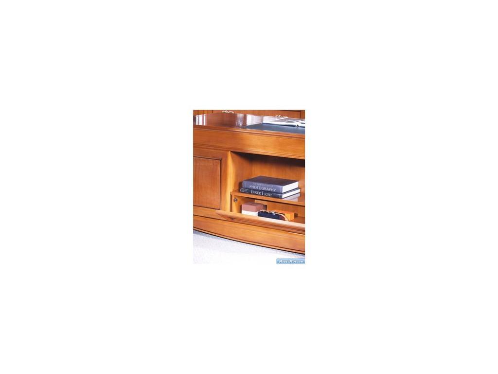 Monte Cristo: Gualengo: стол письменный  2-х тумбовый (вишня)