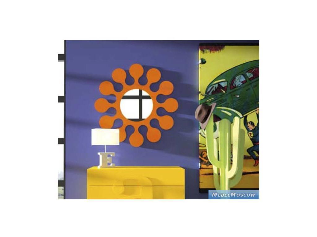 Coim: Amarcord: зеркало Flower  (оранжевый)