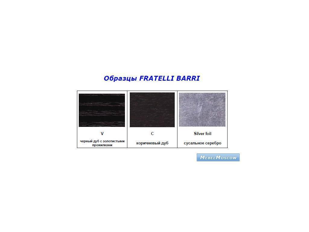 Fratelli Barri: образцы дерева
