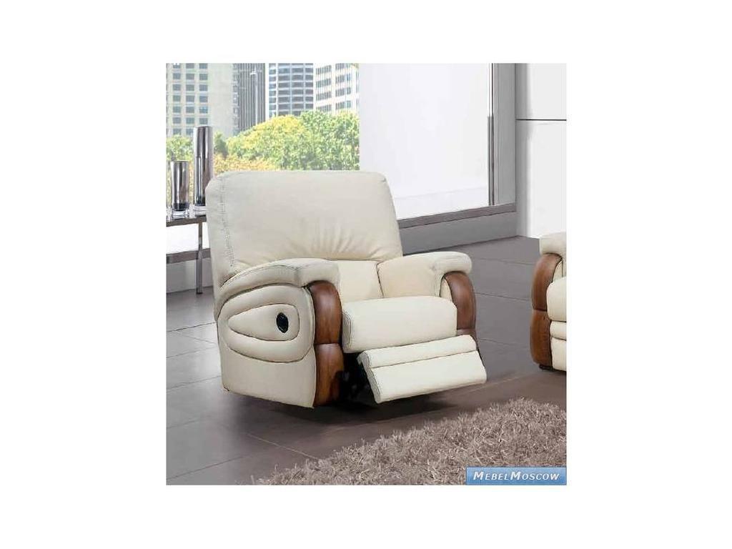 M.Soria: Estoril: кресло с реклайнером кожа