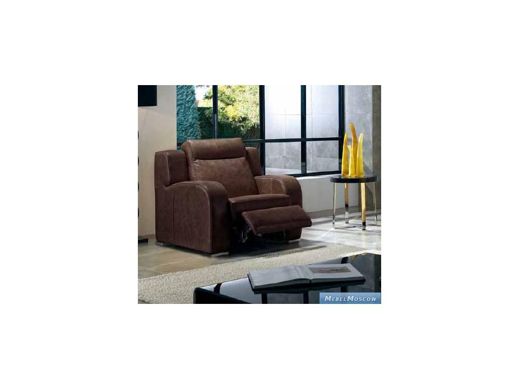 M.Soria: Kioto: кресло с реклайнером кожа