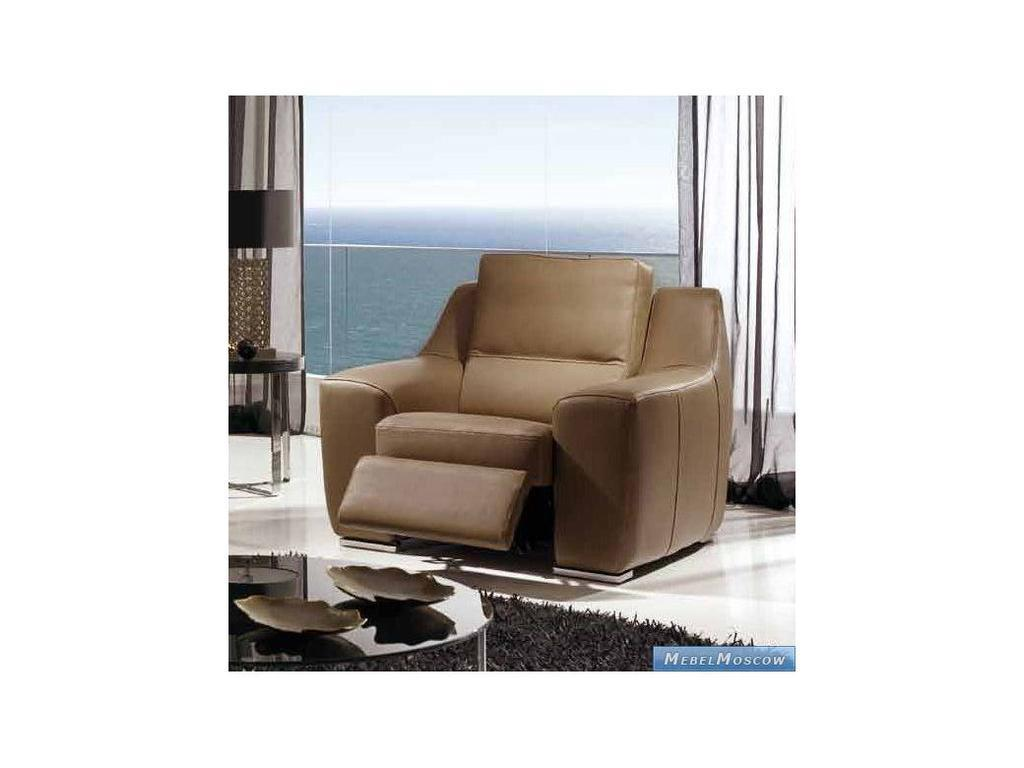 M.Soria: Siena: кресло с реклайнером кожа