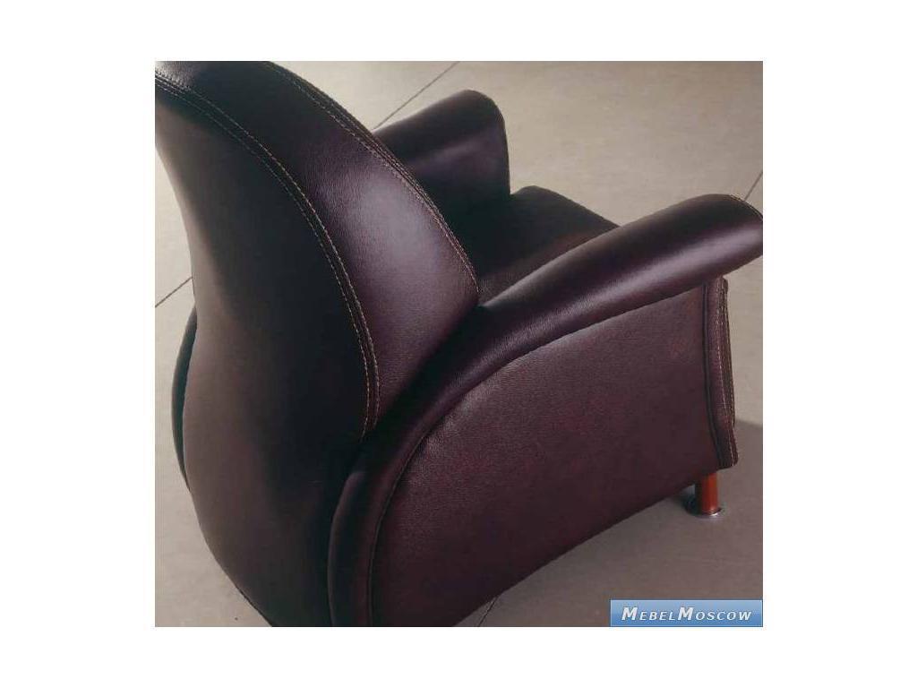 M.Soria: Bergamo: кресло кожа