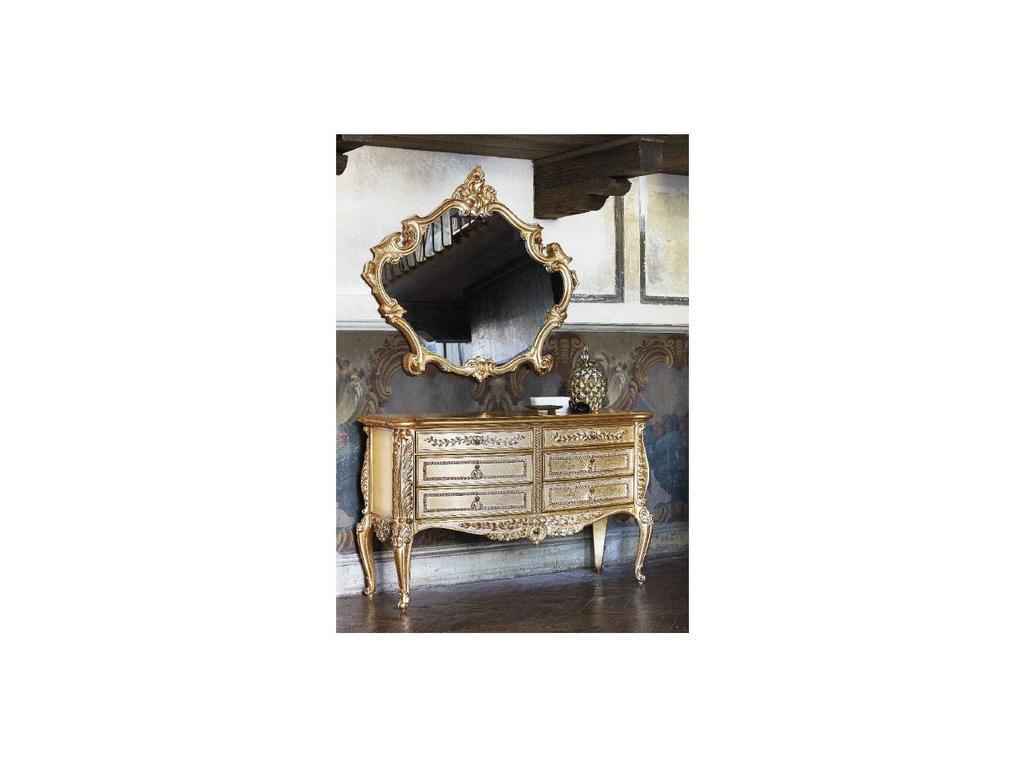 Silik: Vesta: комод  (золото)