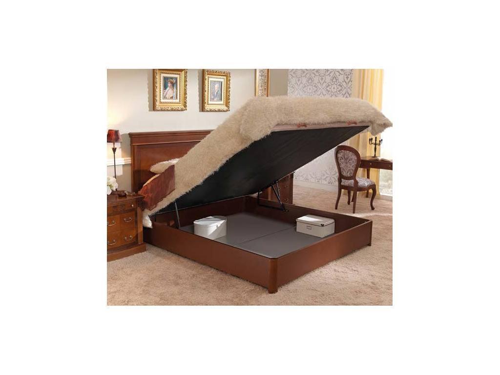 Panamar: Classic: кровать 160х200  с подъемным механизмом (орех)