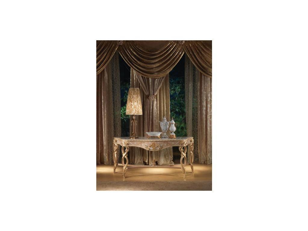 Carpanelli: Vanity: консоль  (натуральное дерево, золото)