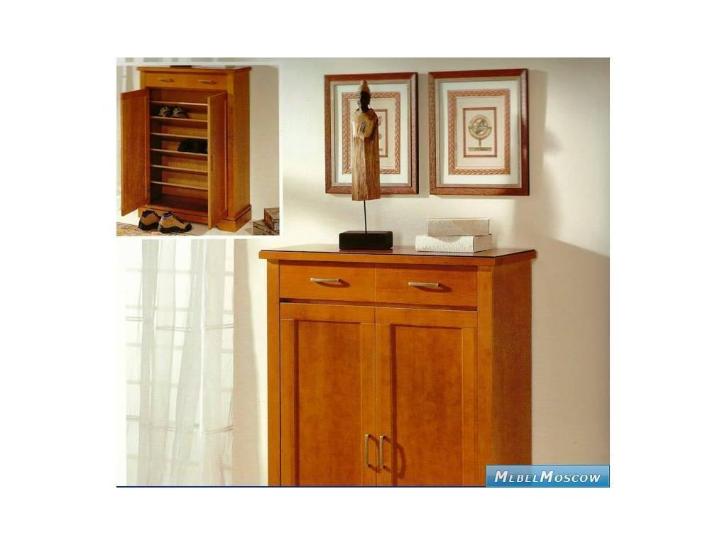 Panamar: Modern: прихожая  с комодом узким 2-х дверным (черешня)