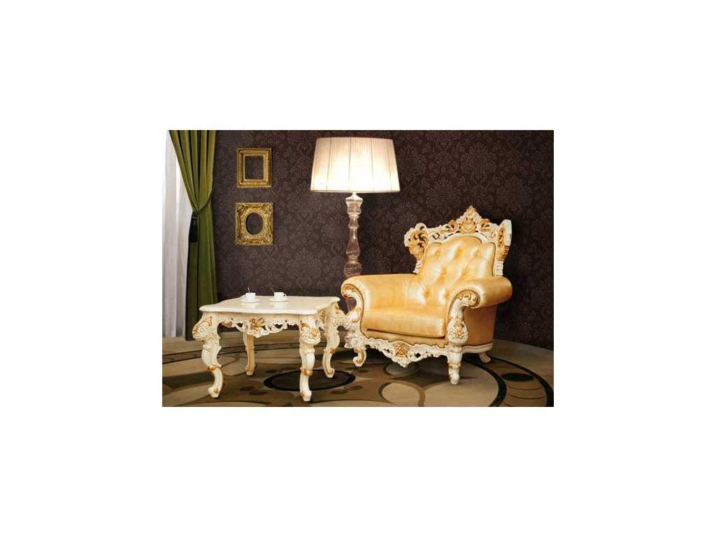 Alberto Grani: Strong: кресло  (слоновая кость, кожа)